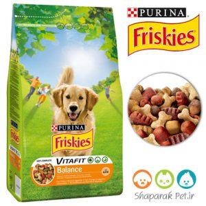 غذای سگ بالغ فریسکیس طعم مرغ