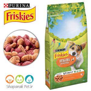 غذای خشک سگ فریسکیس