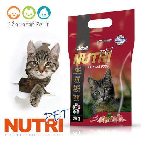 غذای گربه نوتری