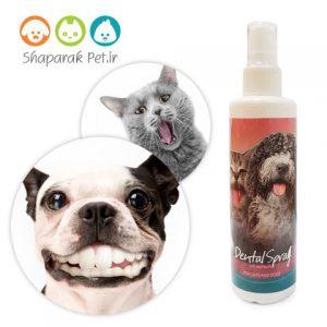 اسپری شستشوی دهان و دندان سگ و گربه