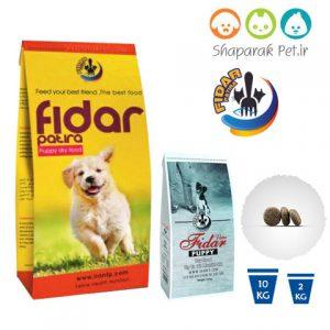 غذای توله سگ فیدار