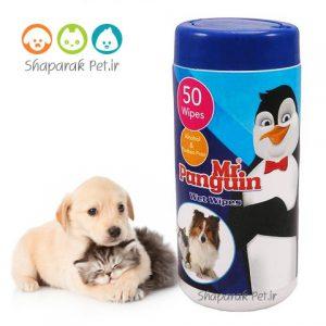 دستمال مرطوب پنگوئن