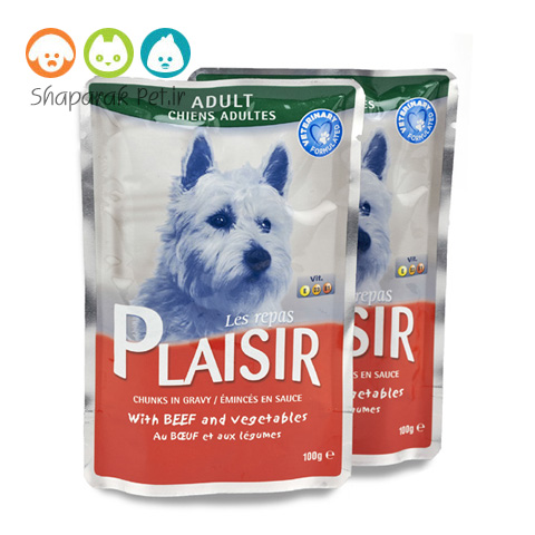 پوچ پلاژیر سگ گوشت