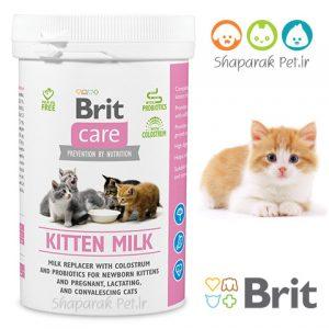 شیر خشک گربه brit