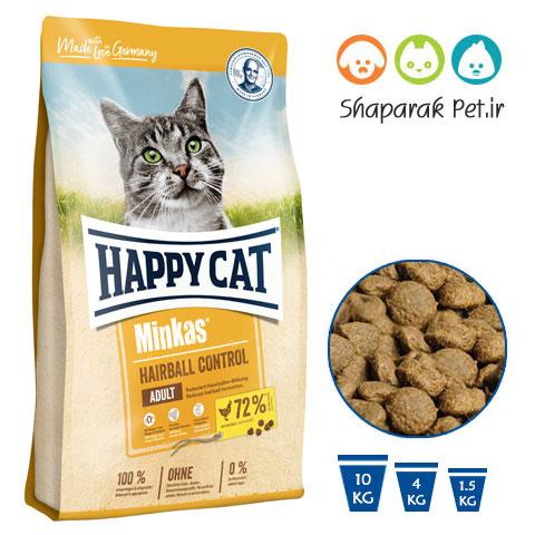 غذای گربه هپی کت مینکاس مرغ