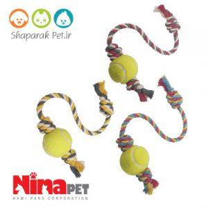 اسباب بازی دندونی سگ نیناپت