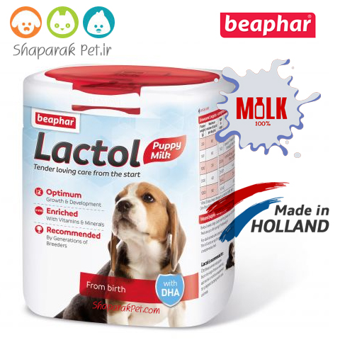 شیر خشک توله سگ