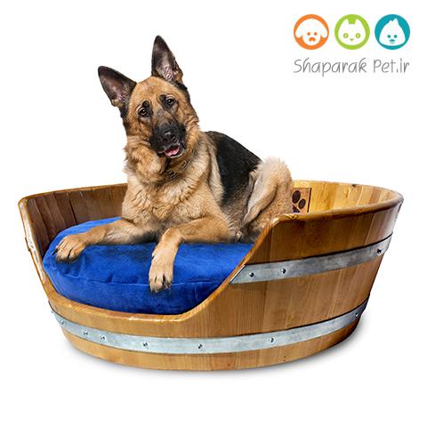 جای خواب سگ همراه تشک
