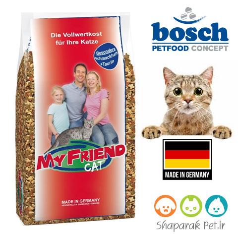 غذای گربه بالغ بوش (مای فرند) طعم میکس